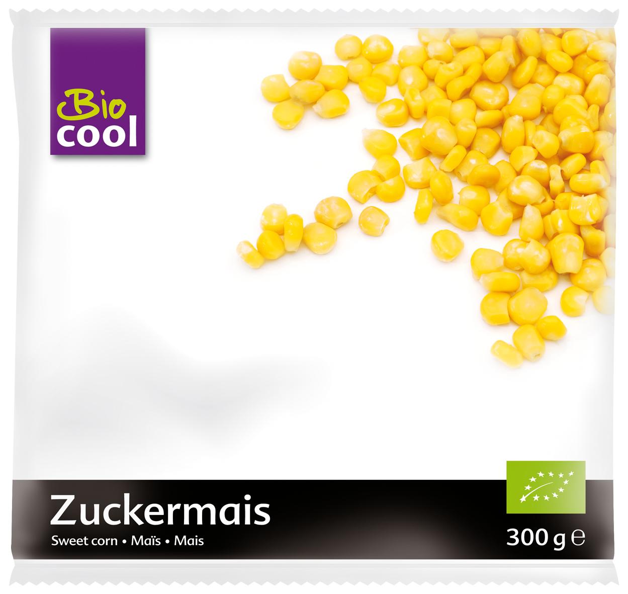 Mrazená kukurica