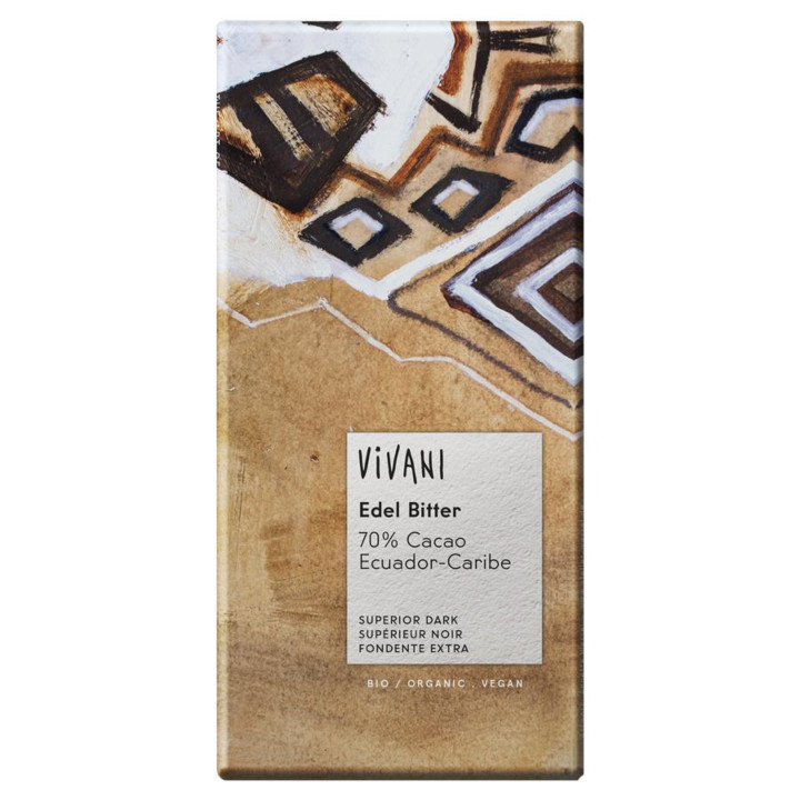 Horká čokoláda 70% Ecuador