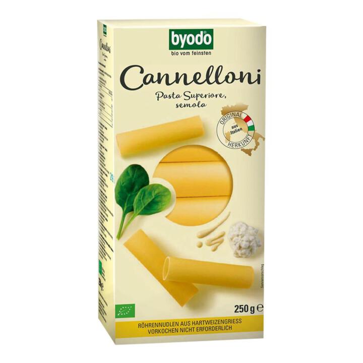Cannelloni semolínové