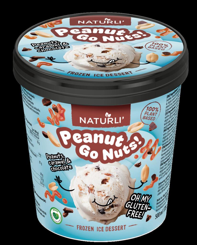 Zmrzlina arašidy, čokoláda