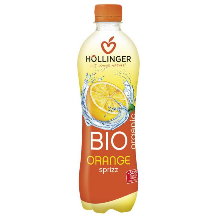 Pomarančový nápoj sýtený