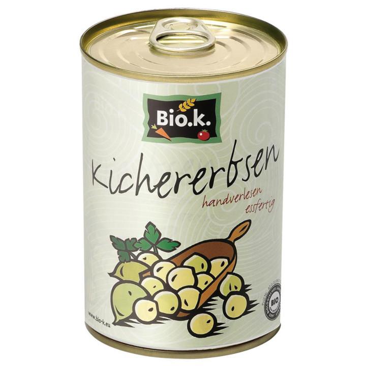 Cícer v konzerve Bio.k.