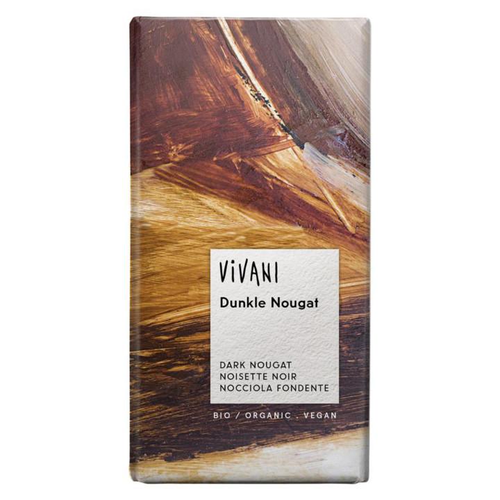 Čokoláda tmavý nugát Vivani