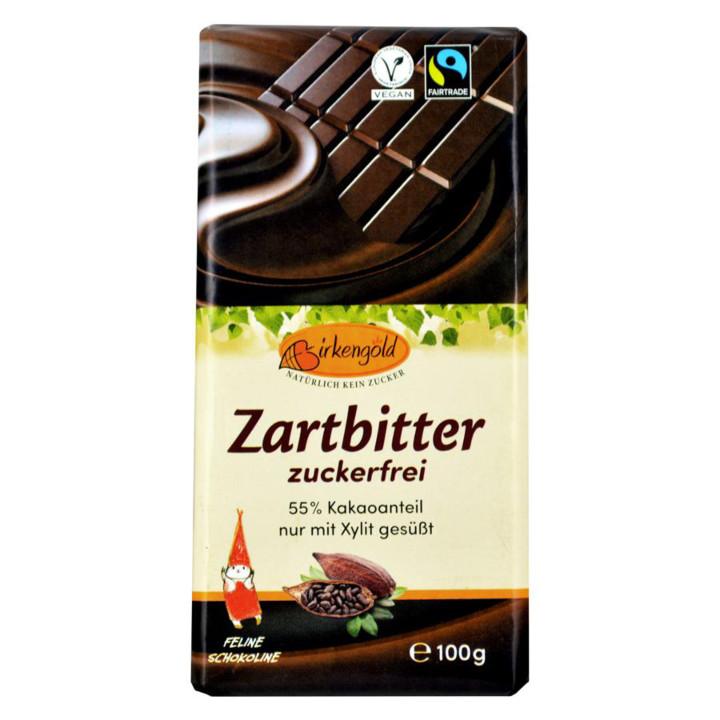 Čokoláda tmavá bez cukru
