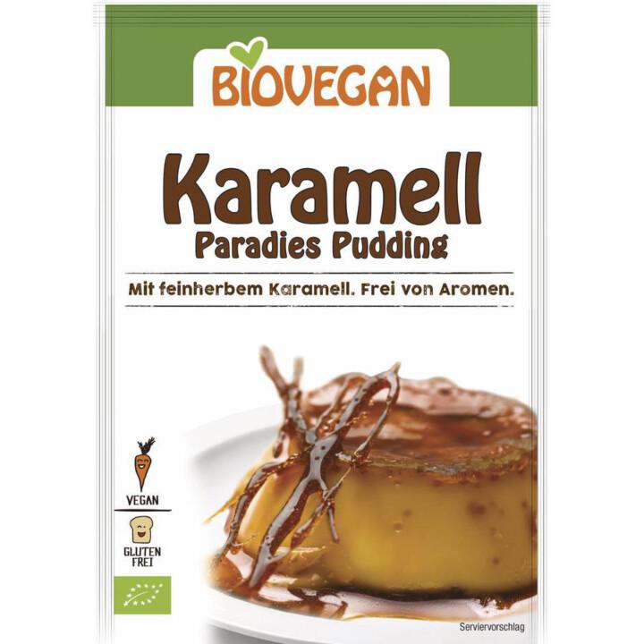Karamelový puding
