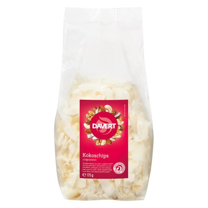 Kokosové chipsy Davert