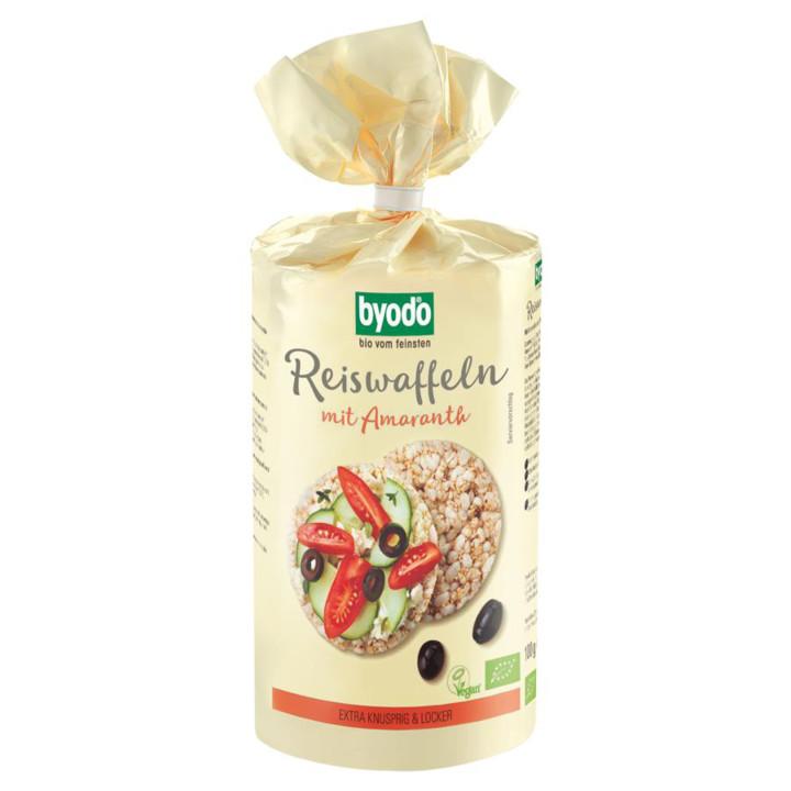 Ryžové chlebíčky s amaranthom