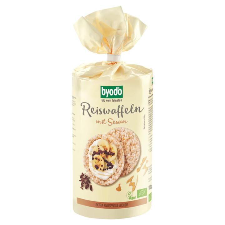 Ryžové chlebíky so sezamom