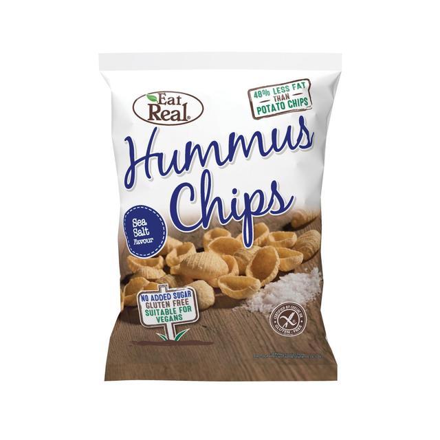 Hummus chipsy solené