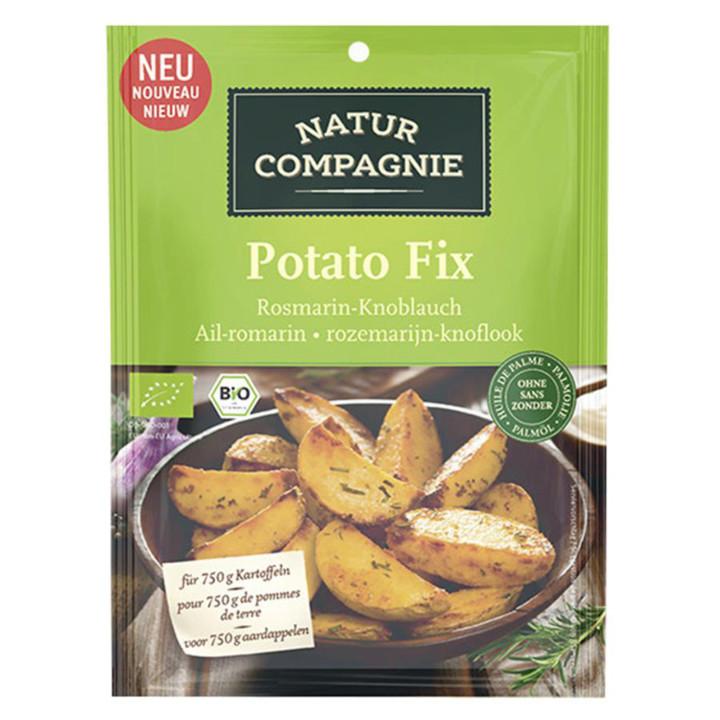 Korenie na zemiaky - rozmarín, cesnak