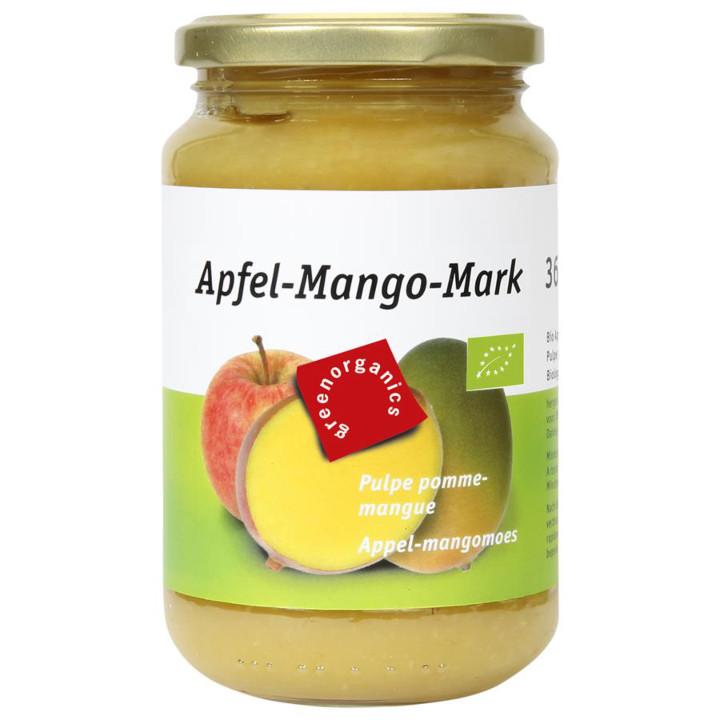 Jablkovo-mangové pyré