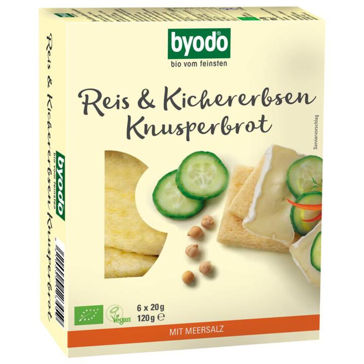 Ryžovo-cícerový chlebík