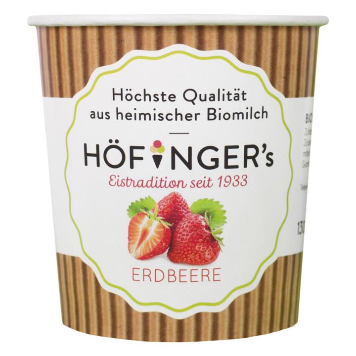 Jahodový sorbet 130 ml Höffinger 278417