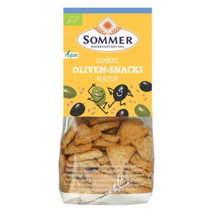 Špaldový snack s olivami