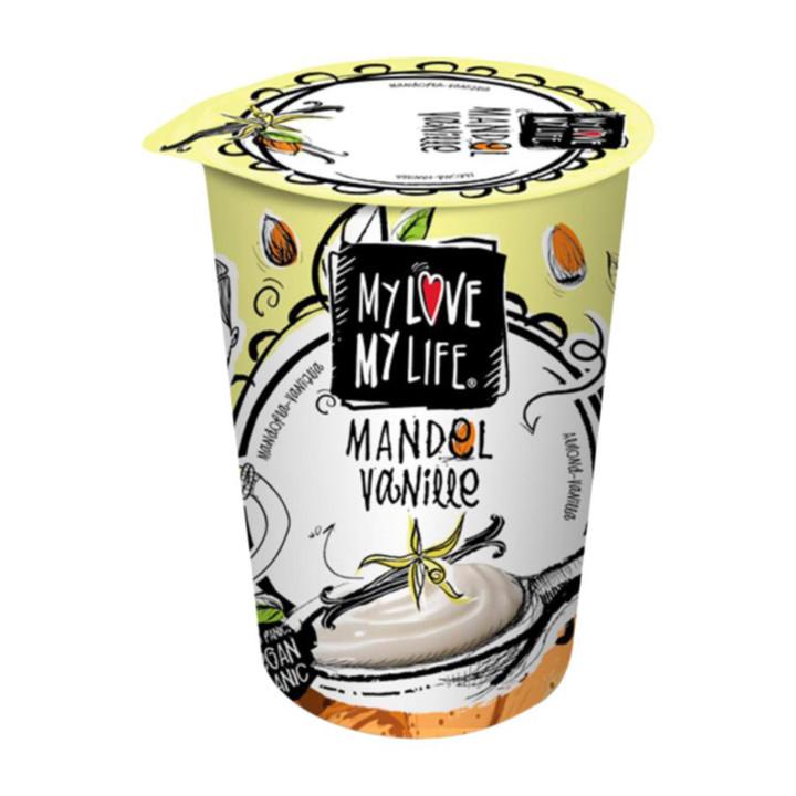 Mandľový jogurtový dezert - vanilka