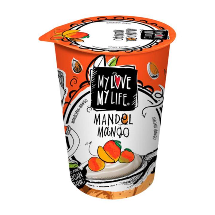 Mandľový jogurtový dezert -  mango