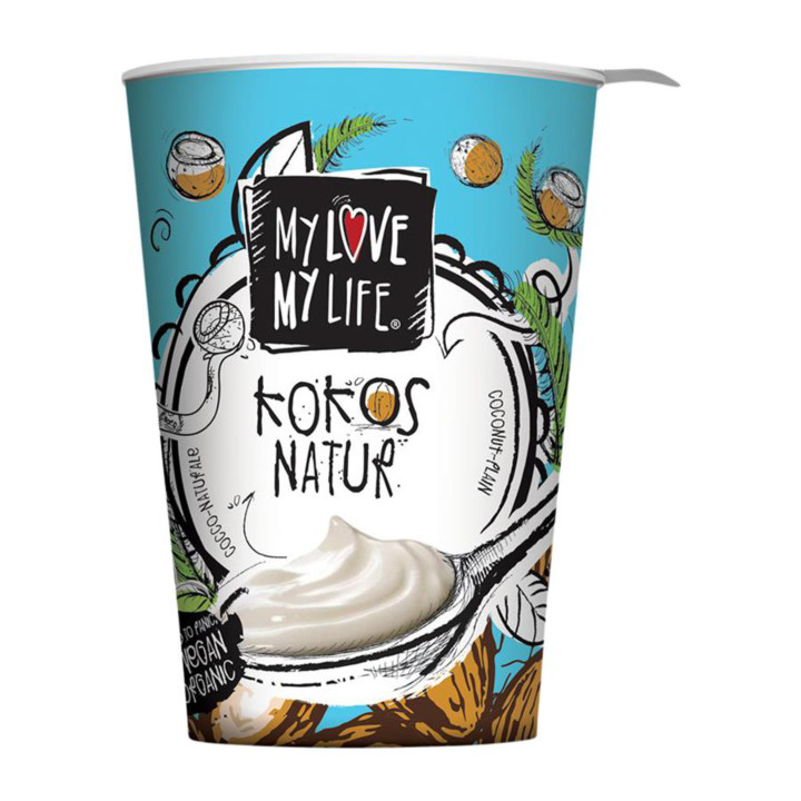 Kokosový jogurtový dezert natur