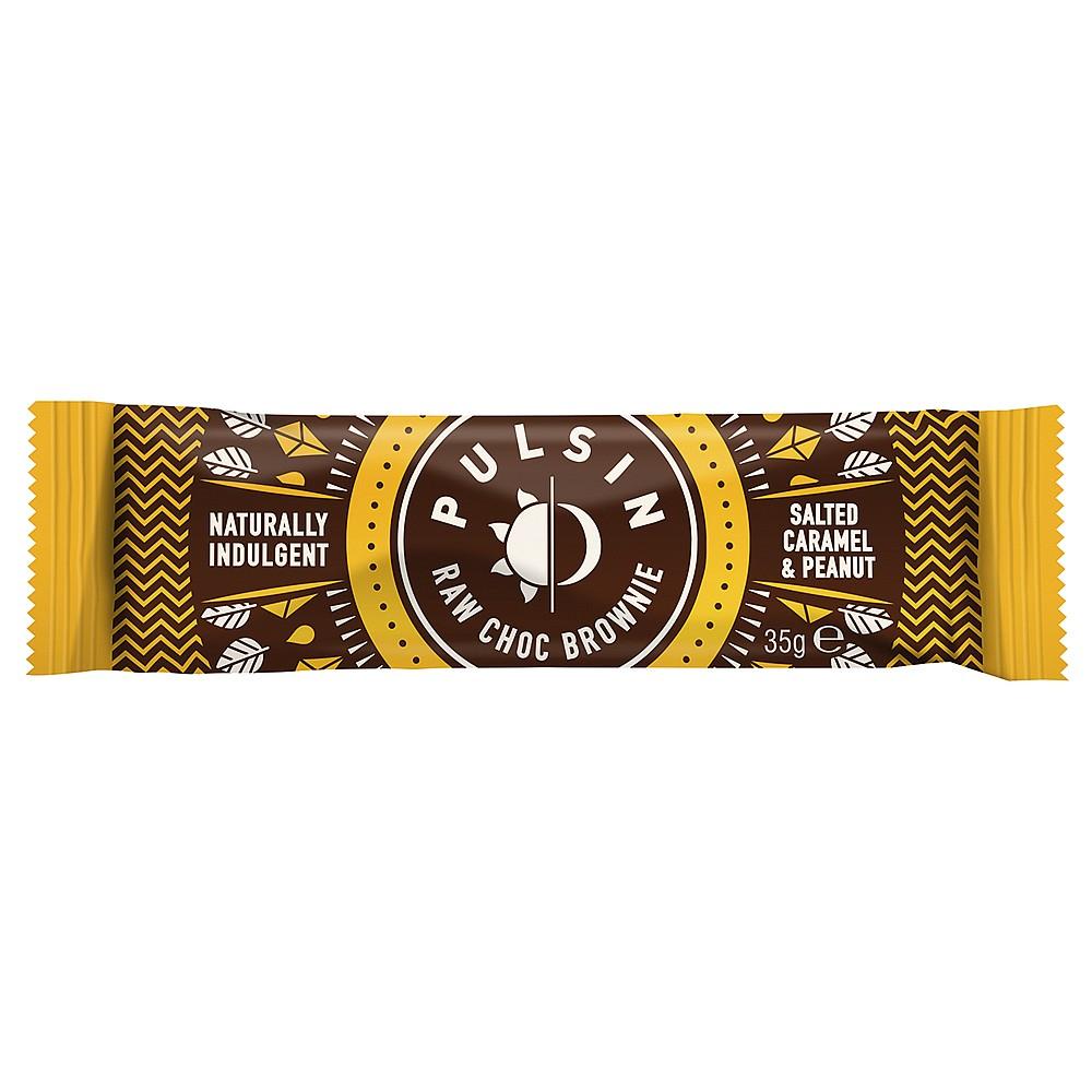 Názov - Raw tyčinka slaný karamel 35 g Pulsin