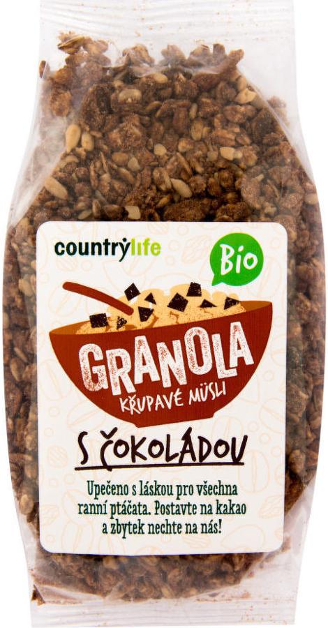 Granola s čokoládou