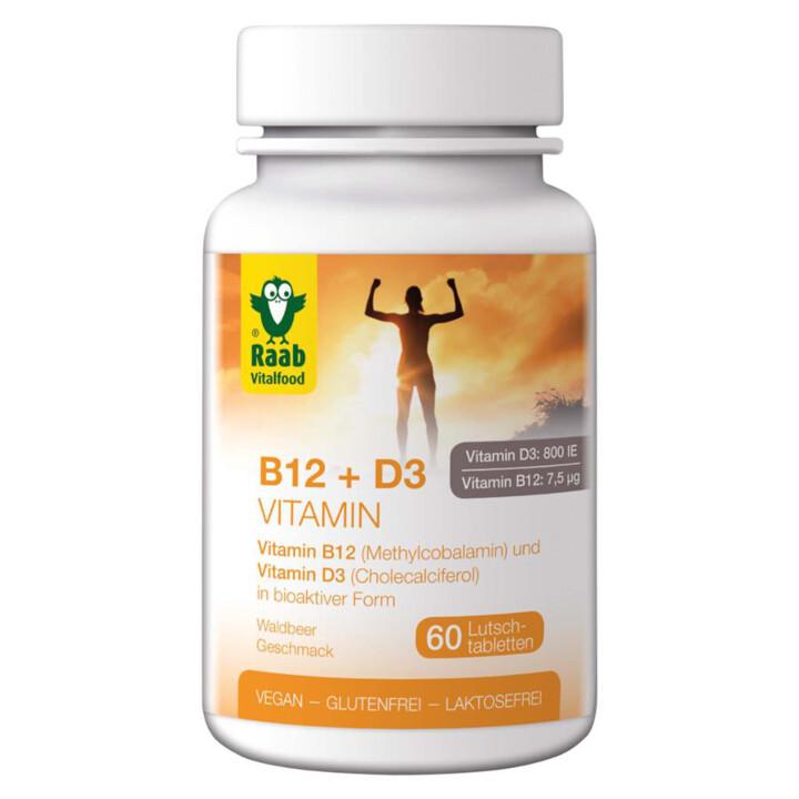 Tablety B12 a D3 - na cmúľanie