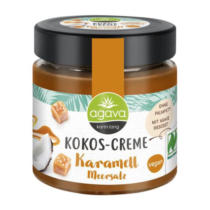 Kokosový krém karamel, morská soľ