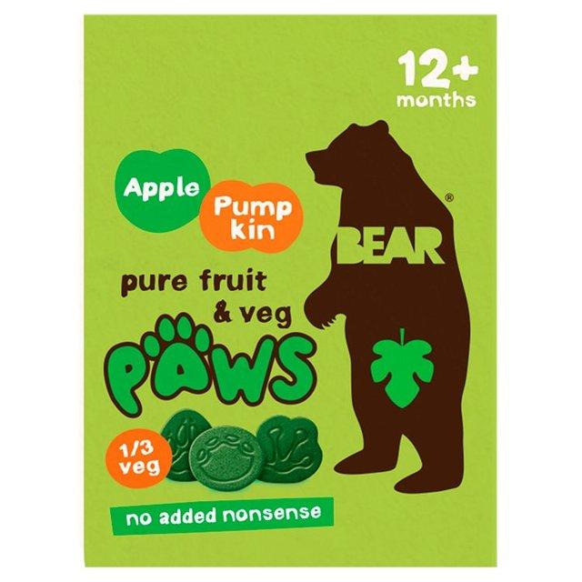 Jablkovo-tekvicové packy 20 g Bear