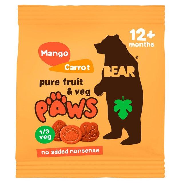 Mangovo-mrkvové labky 20 g Bear