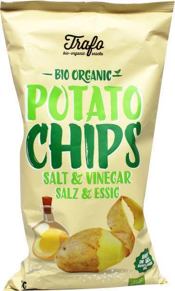 Chipsy soľ a ocot