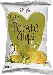 Chipsy s olivovým olejom