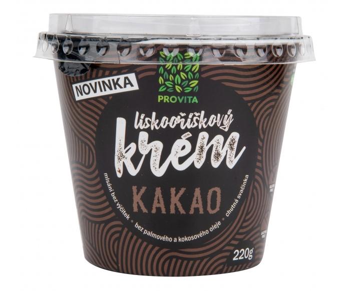 Lieskovo-orieškový krém kakao