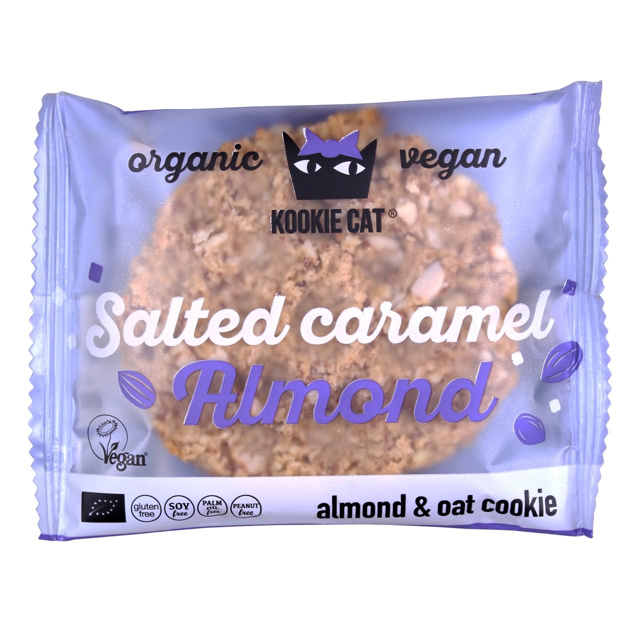 Bezlepkový kookie slaný karamel