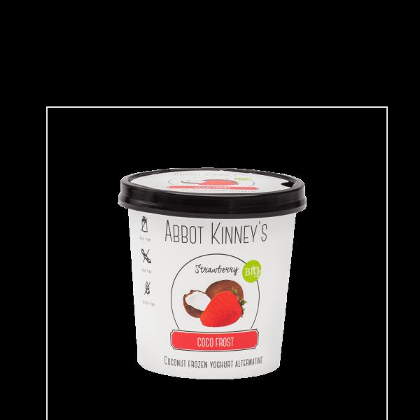 Kokosová jogurtová zmrzlina jahodová