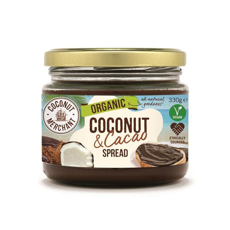 Kokosovo-kakaová nátierka