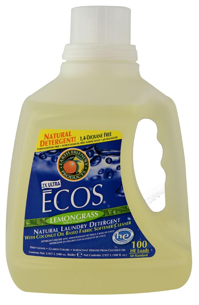 Prací gel & aviváž citrónová tráva 3 litre