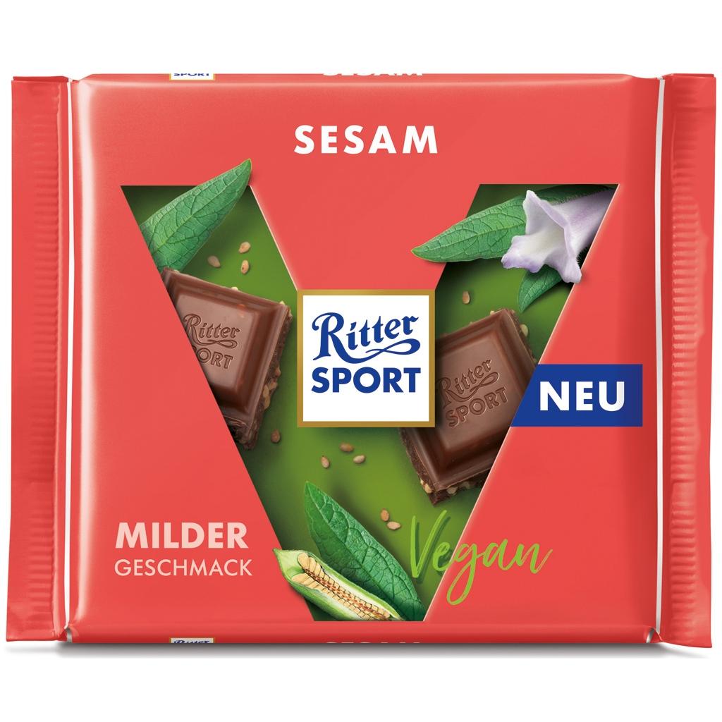 Čokoláda jemná so sezamom