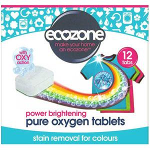 Tablety na čistenie farebného prádla