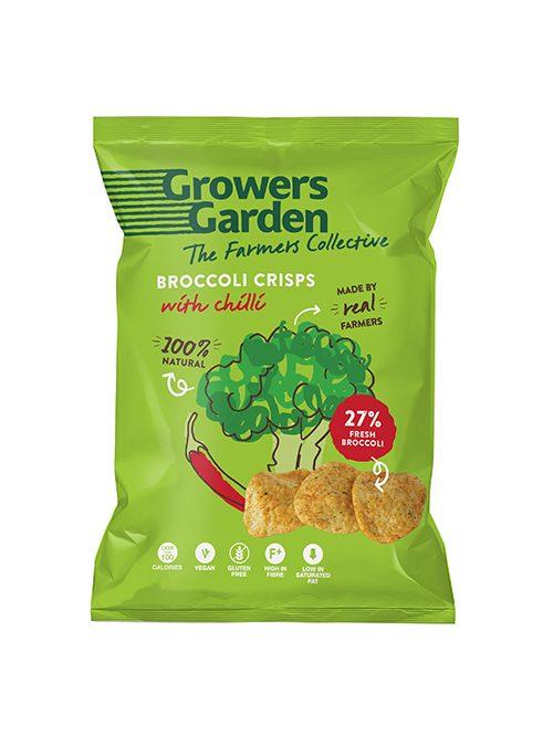 Brokolicové chipsy s chilli