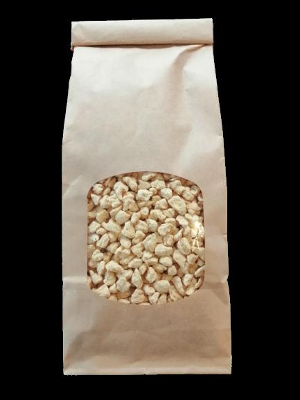 Granulát z hráškového proteínu
