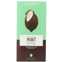 RAW čokoláda - mäta