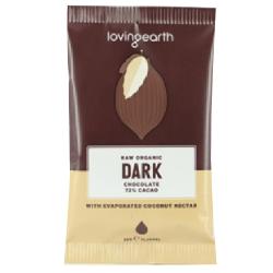 RAW čokoláda - tmavá 72%, 30g
