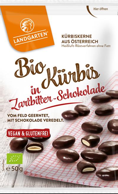 Tekvicové semienka v horkej čokoláde