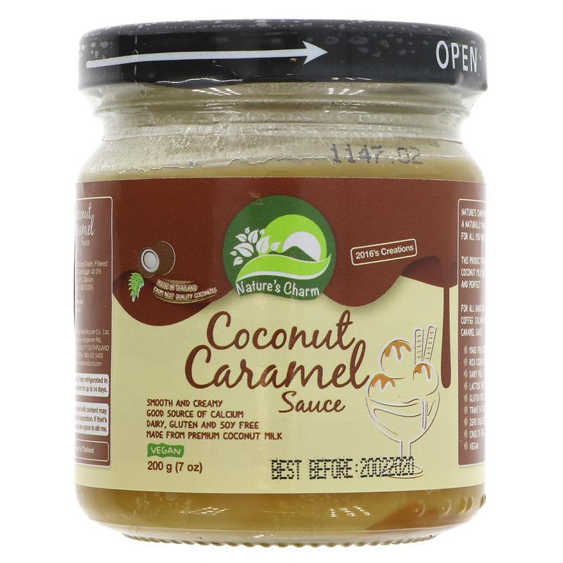 Kokosová karamelová omáčka