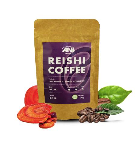Instantná káva s reishi