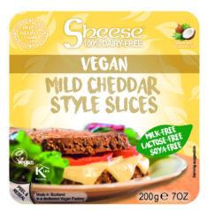 Plátkový syr - jemný Chedar