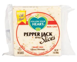 Plátkový syr - Pepper Jack