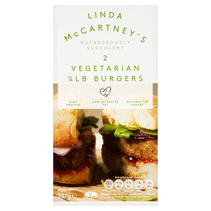Burgery Linda McCartney