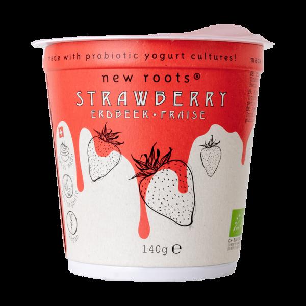 Kešu jogurt jahoda