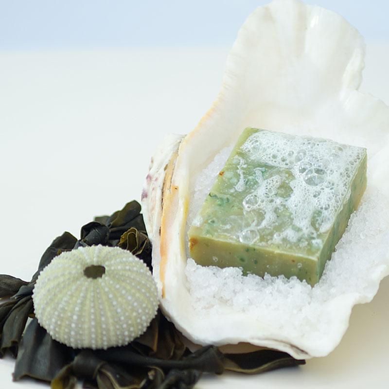Šampónové mydlo - morské riasy a soľ