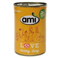 Konzerva pre psíka Ami dog 400 g