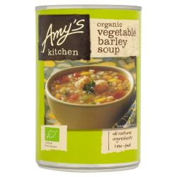 Zeleninová polievka s jačmeňom